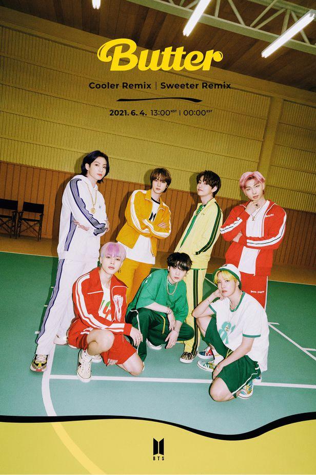 방탄소년단 신곡 '버터'